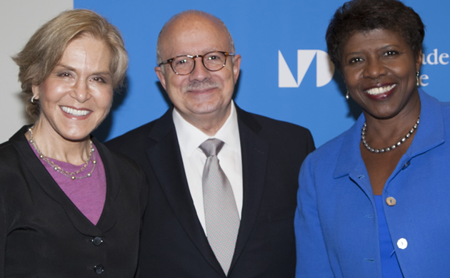 Judith Rodin, President Padrón and Gwen Ifill