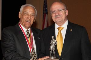 Dr. Padron received Good Scout Award