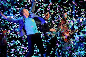 Coldplay Live 1