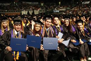 2010 Graduation students