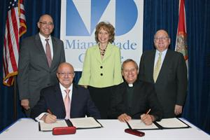 MDC and St. Thomas University Enter into New Academic Partnership