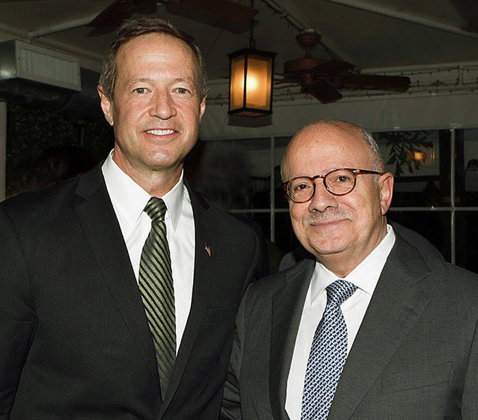Former Maryland Governor Martin O'Malley and MDC President Dr. Eduardo J. Padrón