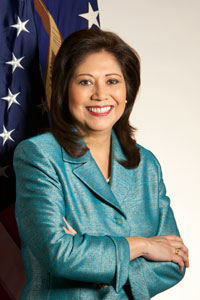 US Secretary of Labor Hilda L. Solis