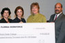 $970,000 check presentation from South Florida Workforce to MDC