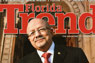 President Padrón on the cover of Florida Trend