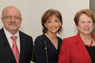 Dr. Eduardo Padrón; Helen Aguirre Ferré, MDC Board of Trustees chair; and Dr. Carol Geary Schneider, president of the Association of American Colleges and Universities