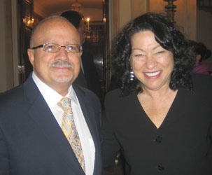 President Padron and Supreme Court Justice Sonia Sotomayor at the White House
