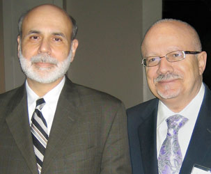 President Padron and Federal Reserve Chairman Ben Bernanke