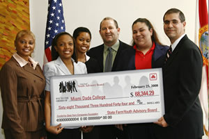 Barbara R Carr from State farm, Rebeca Sanchez, Kerr-Anne Parkes, JoshYoung, Gaby Pacheco, Jose Soto from State Farm